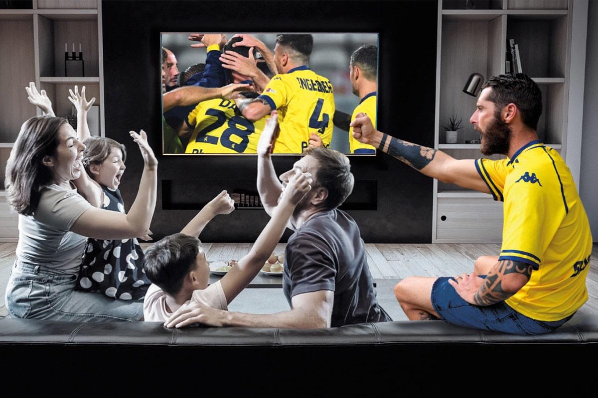 Eleven Sports: abbonamenti agevolati per i tifosi gialloblù