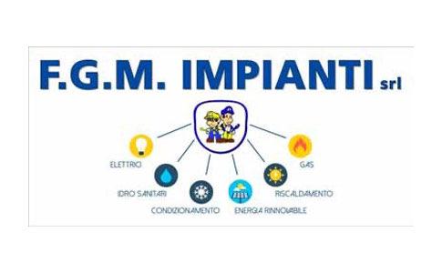 F.G.M Impianti Logo