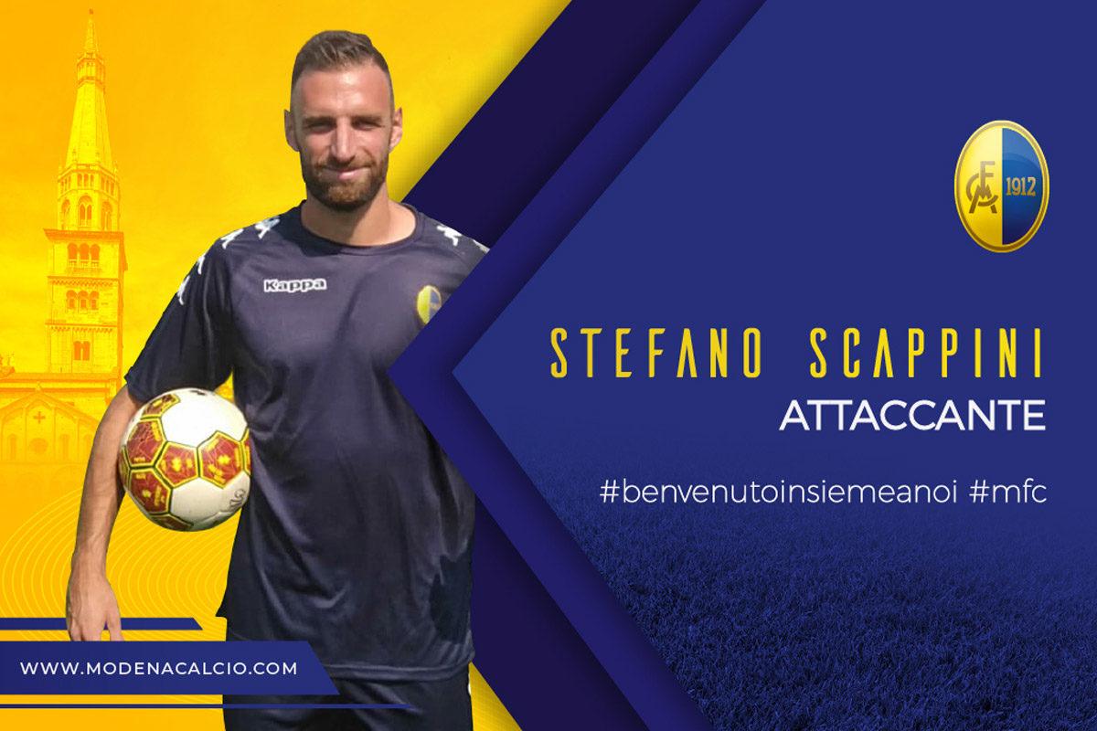 Mercato: arriva Stefano Scappini