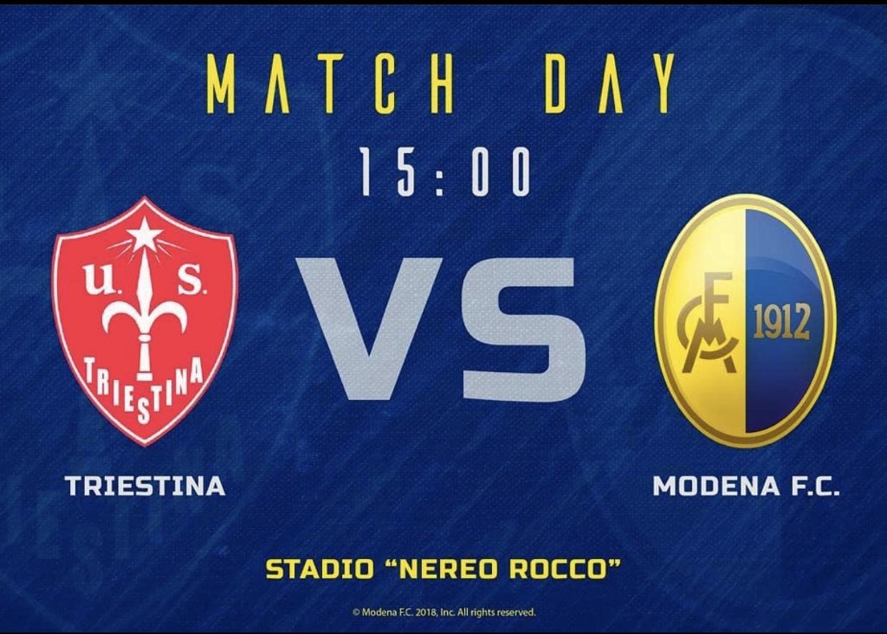 Triestina vs Modena Match