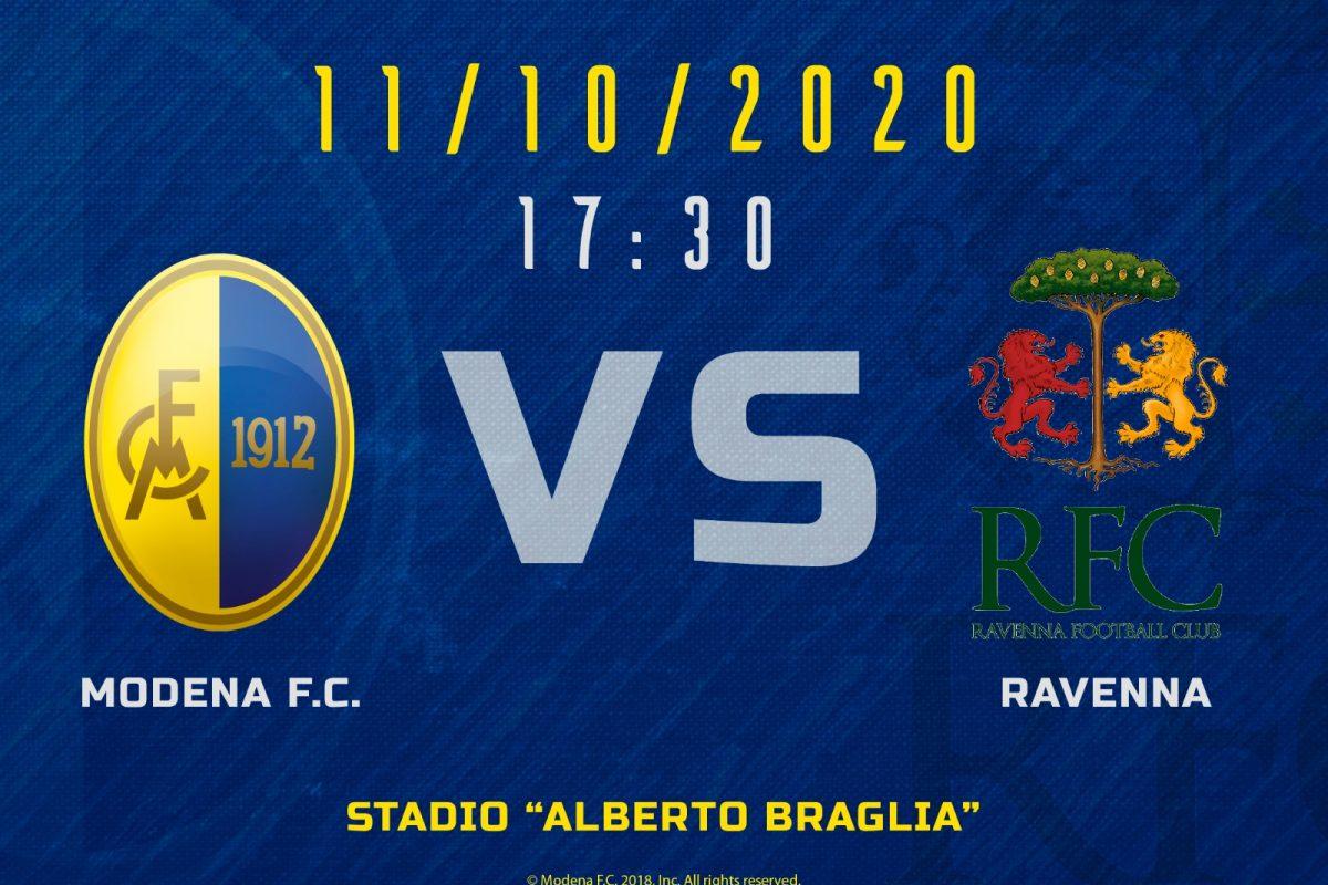 Live Modena – Ravenna 3-0 (Fine gara)