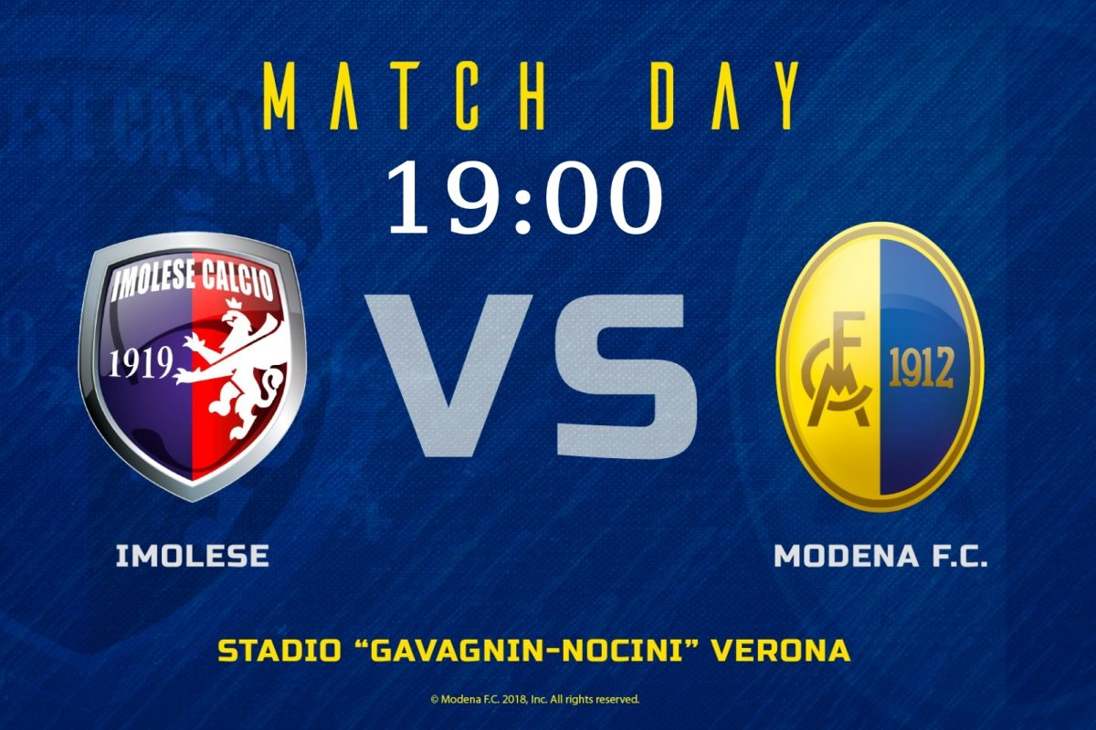 Live Imolese – Modena 0-1 (Fine Gara)