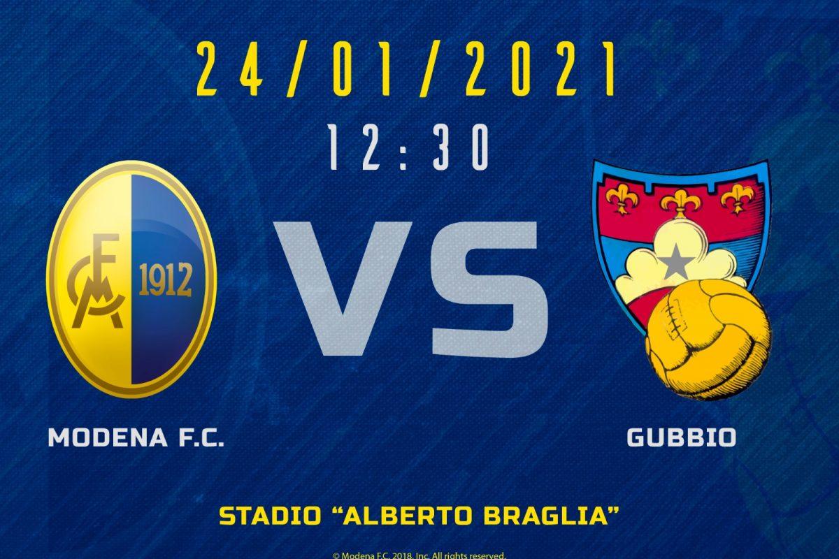 Live Modena – Gubbio