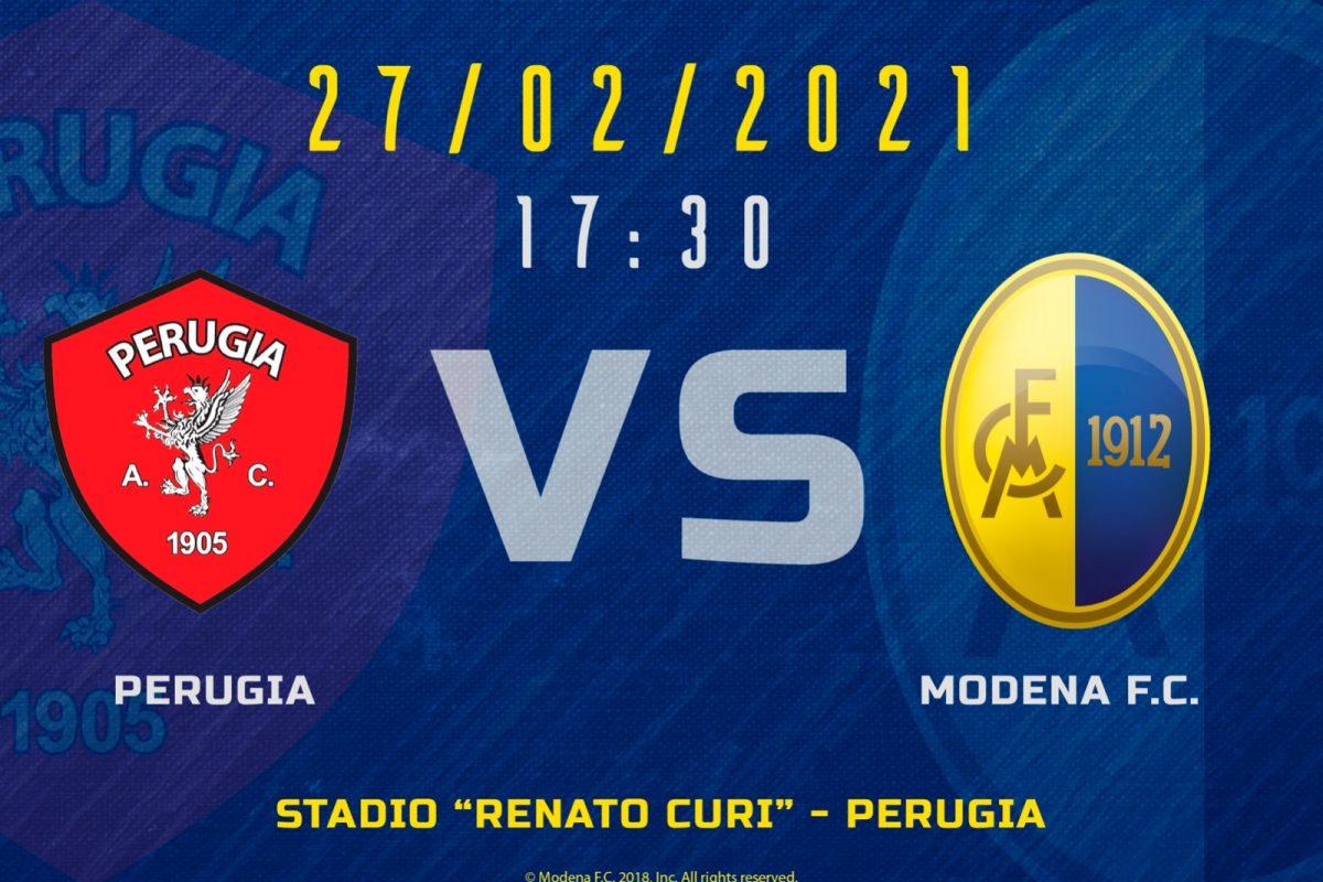 Live Perugia – Modena (ore 17:30)