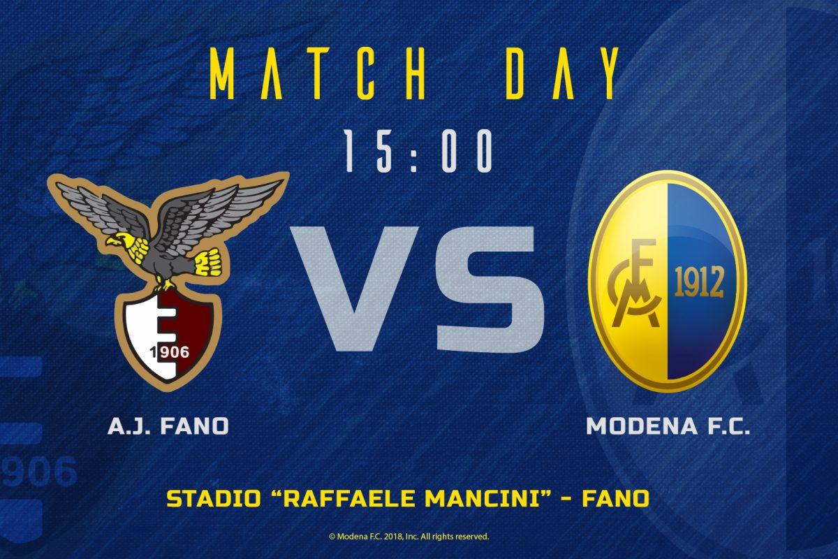 Live Fano – Modena 0-1 (fine gara)