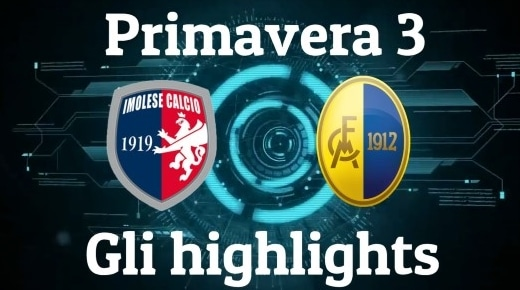 Primavera 3: Imolese – Modena gli highlights