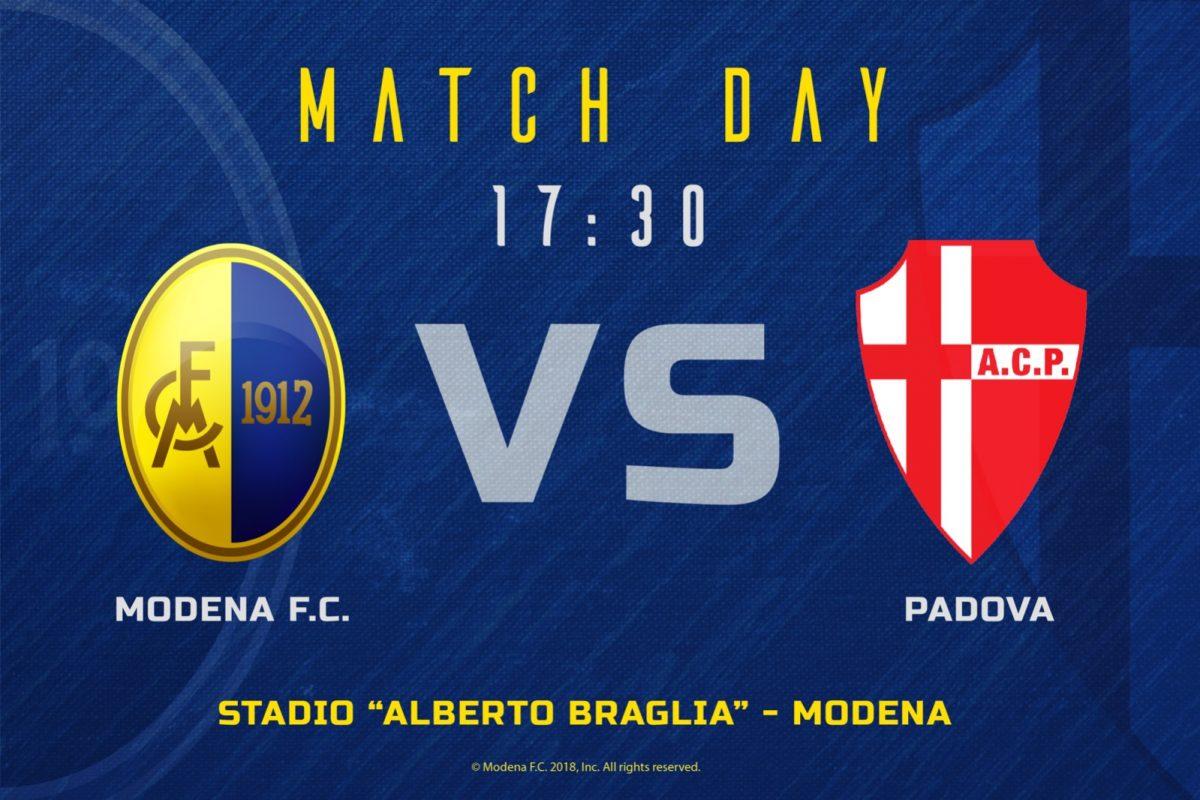 Live Modena – Padova 3-0 (fine gara)