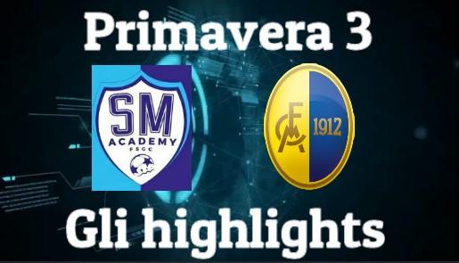 Primavera 3: gli highlights di San Marino – Modena