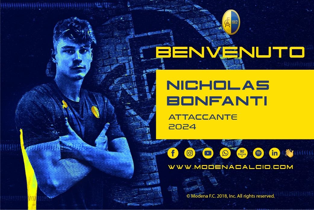 Ingaggiato Nicholas Bonfanti