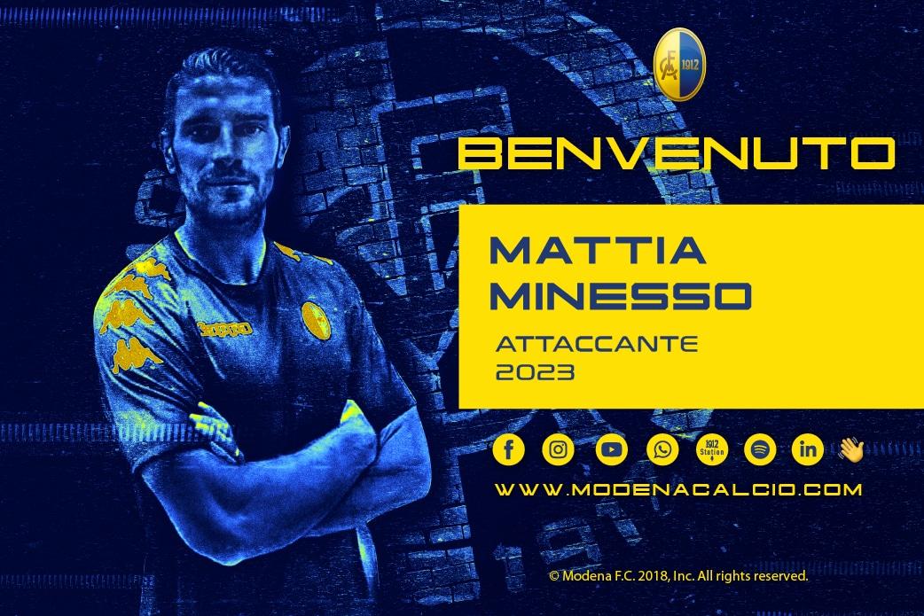 Arriva Mattia Minesso