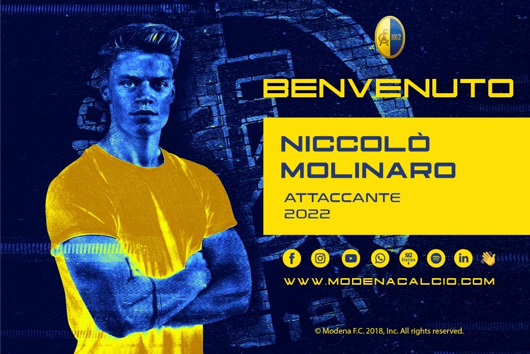 Arriva Niccolò Molinaro