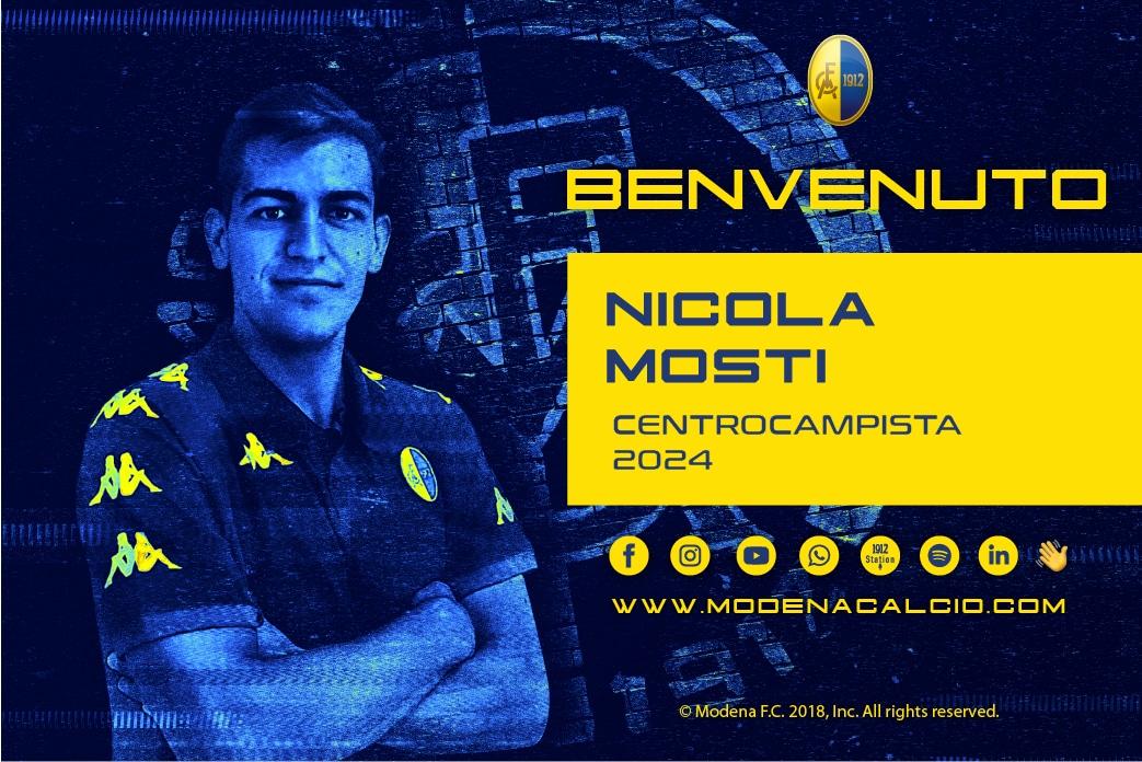 Ingaggiato Nicola Mosti