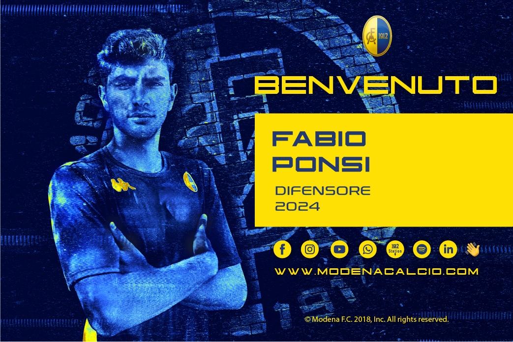 Ingaggiato Fabio Ponsi