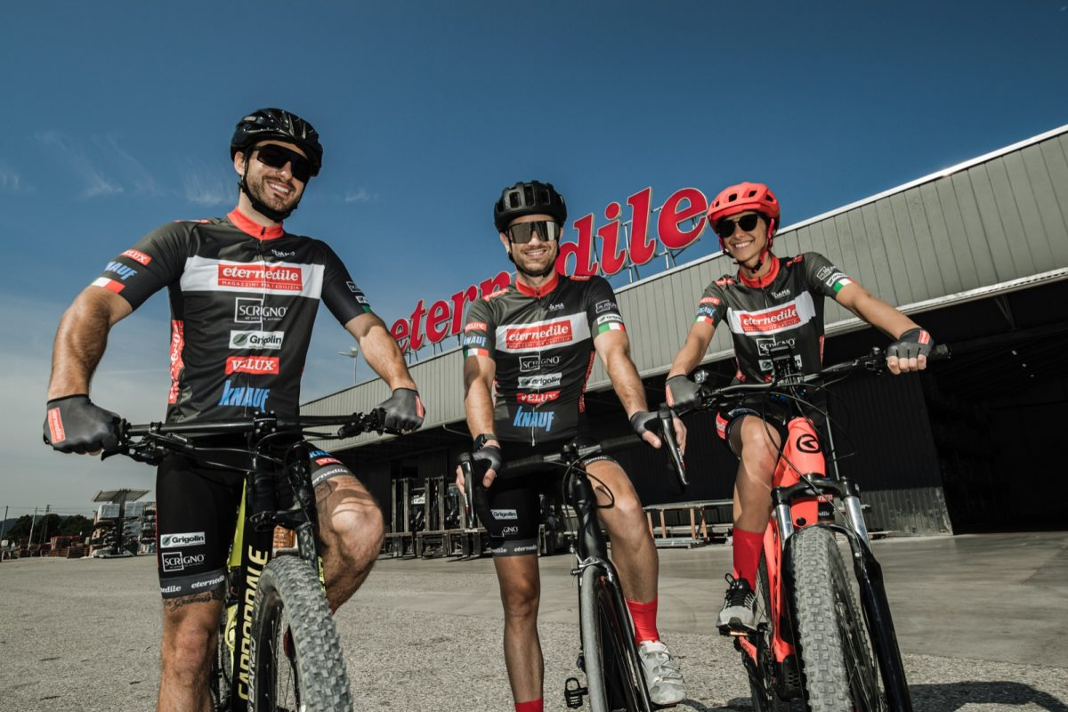 Nel ciclismo vesti Eternedile