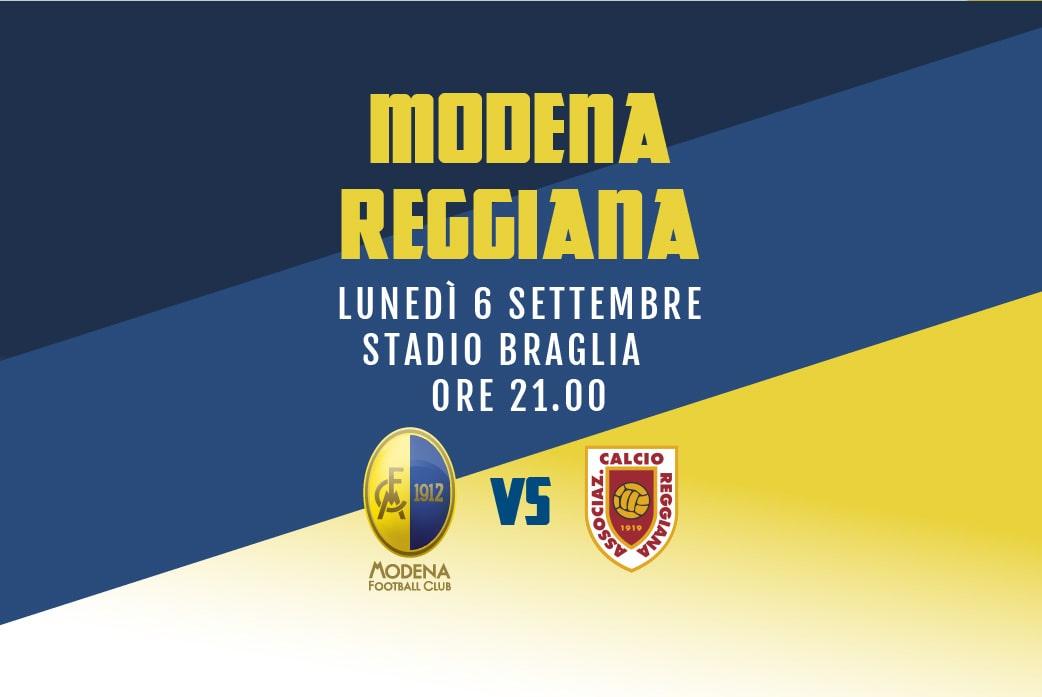 La prevendita Modena –  Reggiana
