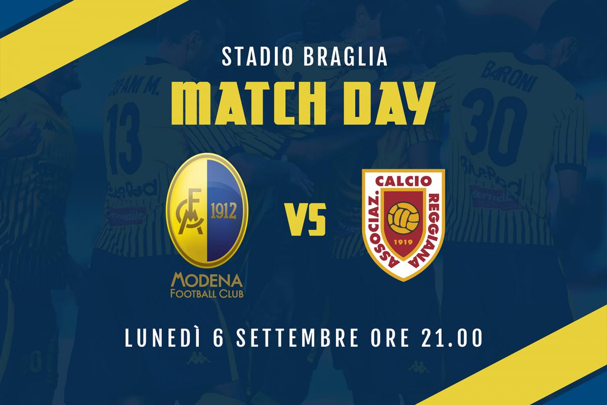 Live Modena-Reggiana 1-1 (fine gara)