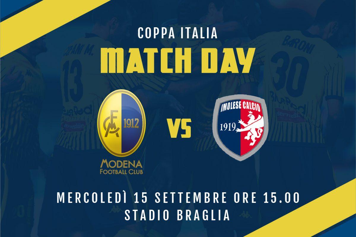 Live Modena-Imolese 4-0 (fine gara)