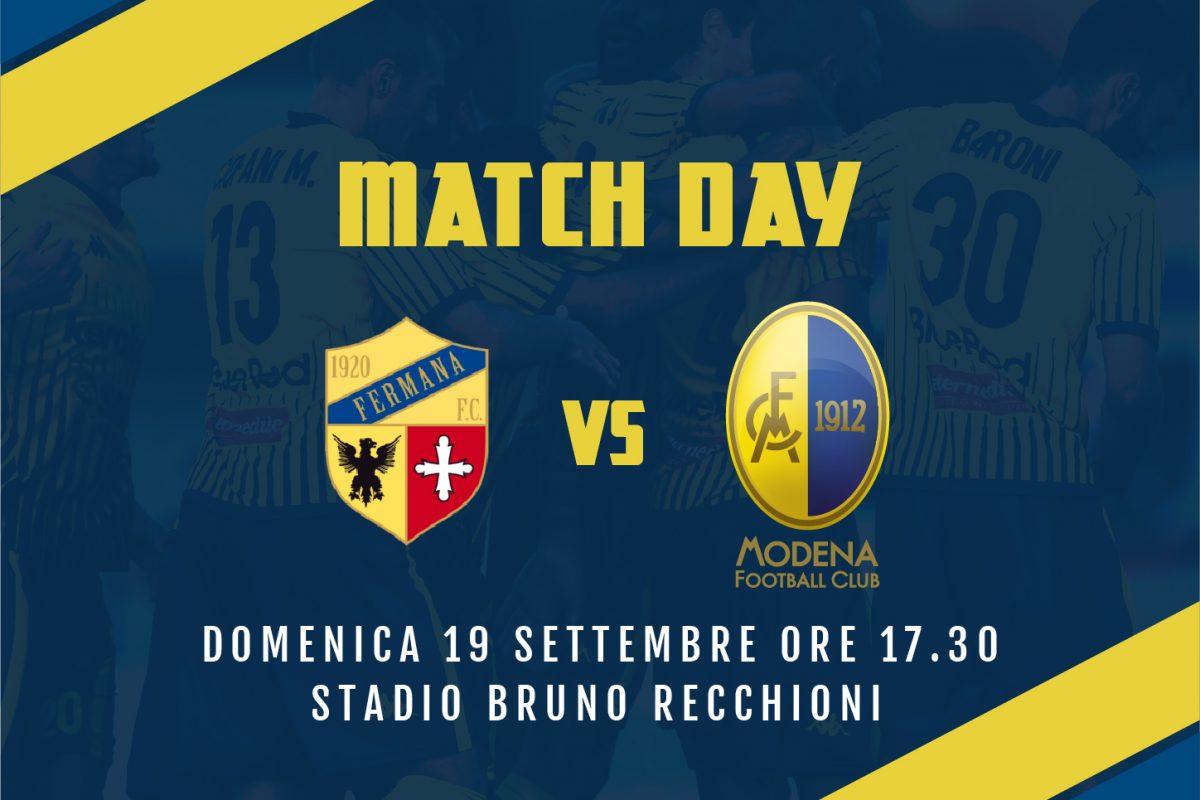 Live Fermana-Modena 0-4 (fine gara)