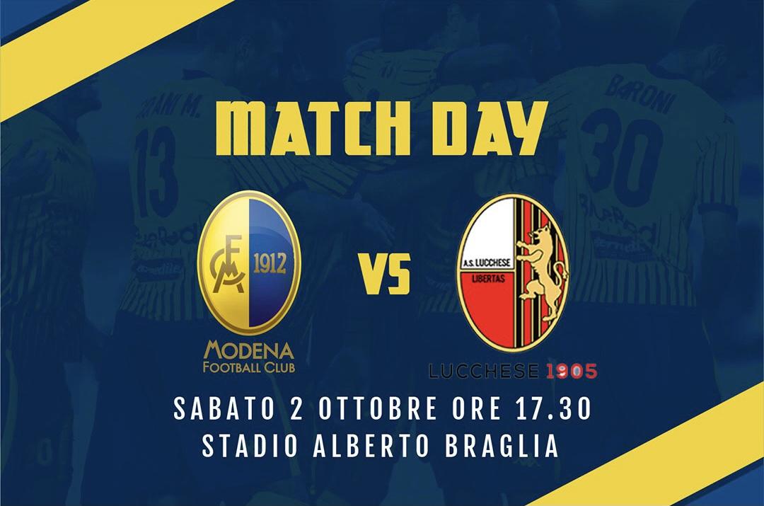 Live Modena-Lucchese 2-1 (fine gara)