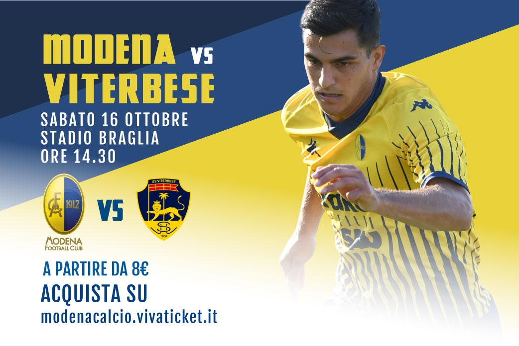 I biglietti di Modena-Viterbese