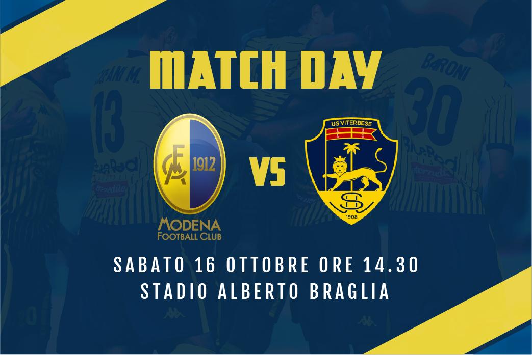 Live Modena-Viterbese 2-0 (fine gara)