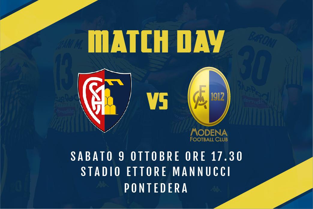 Live Montevarchi-Modena 2-1 (fine gara)